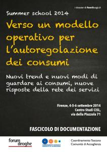 Verso un modello operativo per l'autoregolazione dei consumi.